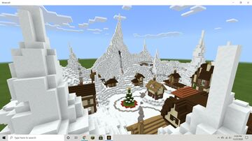 Escape from Mount Ginger: A Christmas Rollercoaster! Minecraft Map & Project