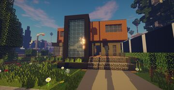 Modern House #30 Minecraft Map & Project