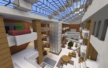 Left 4 Dead 2 Mall Atrium Minecraft Map & Project