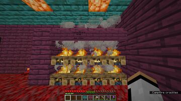Nether Survival Minecraft Map & Project