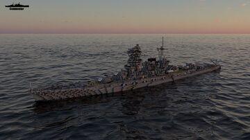 IJN Tajima 1:1 Scale (Fictional Battleship) Minecraft Map & Project