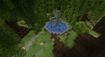 Tree base Minecraft Map & Project