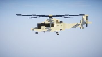 1,5:1 Agusta Westland 109 Helicopter Minecraft Map & Project