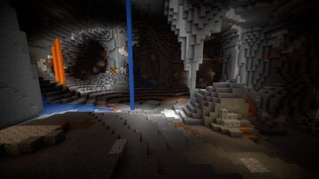 Cave World Minecraft Map & Project