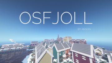 Osfjoll - A Scandinavian City Minecraft Map & Project
