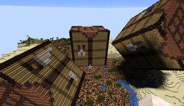 Crafting Table Minecraft Map & Project