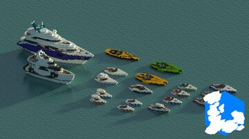 Realm of Lothiredon » Modern Boat pack! [DOWNLOAD] Minecraft Map & Project