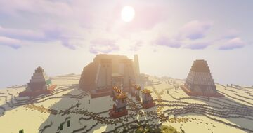 TEMPLE OF AMUN Minecraft Map & Project