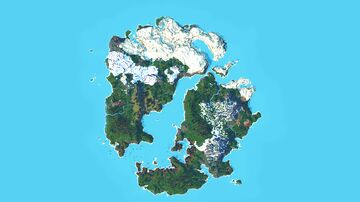 4000x4000 Multibiome map Minecraft Map & Project