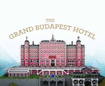 The Grand Budapest Hotel  - Map DOWNLOAD ! Minecraft Map & Project