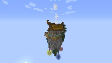 The small flying island viking house 1.10 Minecraft Map & Project