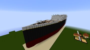 Titanic Minecraft Map & Project