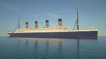 RMS Olympic 1:8 Scale (Updated) Minecraft Map & Project