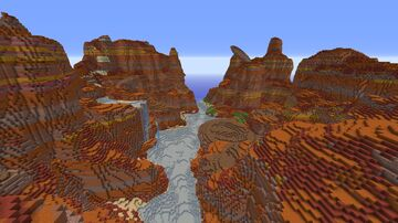 Mesa Cube Minecraft Map & Project
