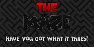 The Maze Minecraft Map & Project