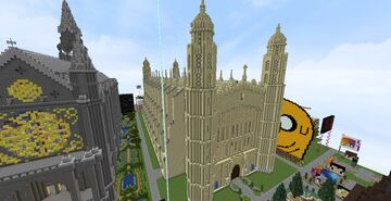 King's College Chapel Minecraft Map & Project