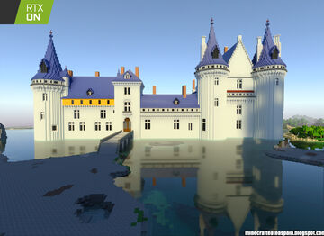 Minecrafteate at RTX, Nº6: Replica of the Castle of Sully Sur Loire, France. Minecraft Map & Project