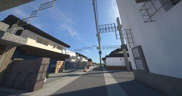 Minimalist small street of Japan #1, Matsue, Shimane prefecture Minecraft Map & Project