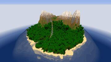 LP's Jungle Island Minecraft Map & Project