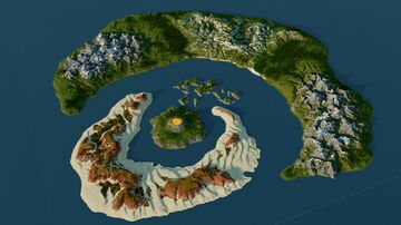 Skyedo - 5120x5120 RPG Map Minecraft Map & Project