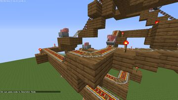 Pig Coaster Minecraft Map & Project