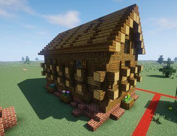 Maison style moyen-âge Minecraft Map & Project
