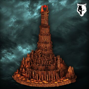 Sauron's Fortress - Barad Dur Minecraft Map & Project
