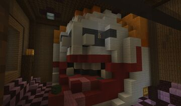 Room at the Haunted House Minecraft Map & Project