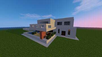 Mansion Modern Minecraft Map & Project