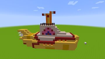 Yellow Submarine Minecraft Map & Project