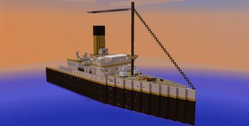 RMS Alusian II - 1910's Ocean Liner Minecraft Map & Project