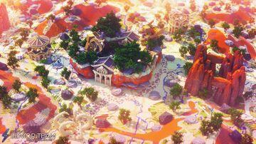 Sandtown Spawn Minecraft Map & Project