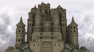 Castle Frame Minecraft Map & Project