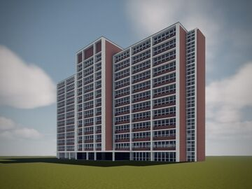 Whitley Hall- Texas A&M Commerce Minecraft Map & Project