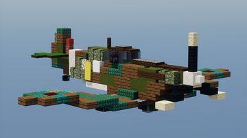 Spitfire mk IIa Minecraft Map & Project