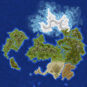 Zenda RPG Map (4k x 4k) Minecraft Map & Project