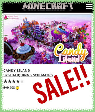 Candy Island Minecraft Map & Project