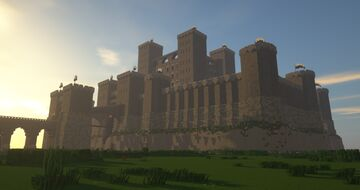 Medieval castle - no interior Minecraft Map & Project