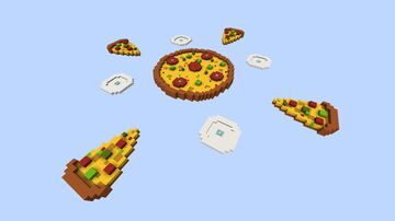BedWars Pizza Map Minecraft Map & Project