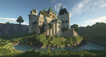 Bojnice Castle 1:1 Minecraft Map & Project
