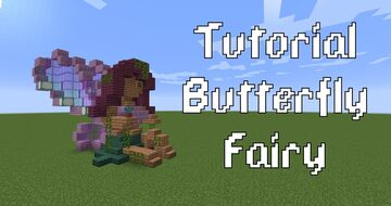 Butterfly Fairy Minecraft Map & Project