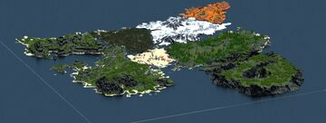 The Sinora [3,000 x 3,000] Minecraft Map & Project