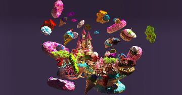 Epic Candyland spawn Minecraft Map & Project