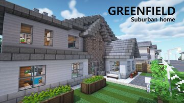 Suburban Home | Greenfield Minecraft Map & Project