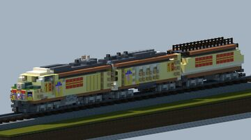Union Pacific gas turbine engine [With Download] Minecraft Map & Project