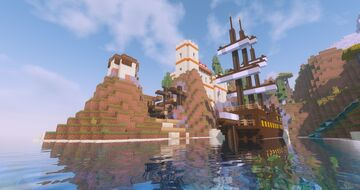 Fort Methone | A byzantine fort in Minecraft | Age of Ruin Minecraft Map & Project