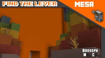 Find The Lever - Mesa Minecraft Map & Project