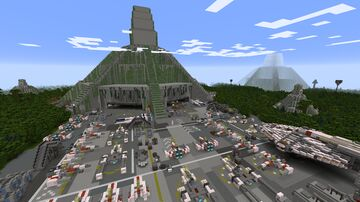Yavin 4, age Civil War (Star Wars planet) Minecraft Map & Project
