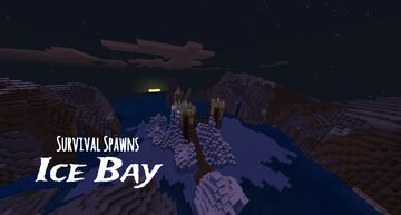 Ice Bay Survival Spawn Minecraft Map & Project