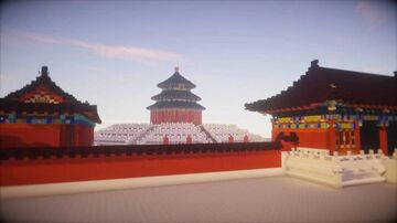 [minecraft]Palace architecture in traditional Chinese style Minecraft Map & Project